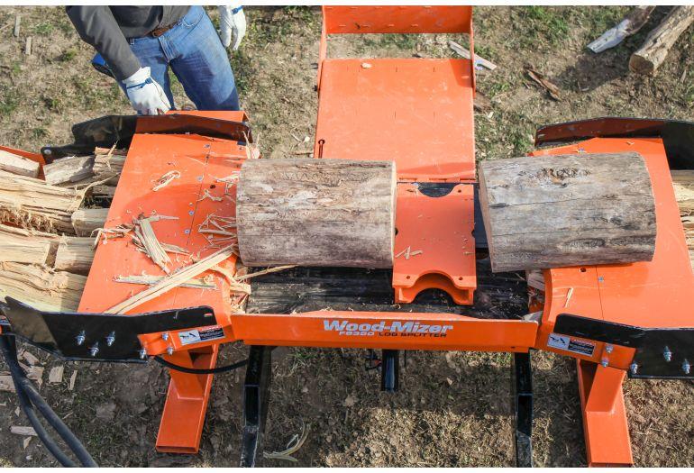 Wood Mizer Introduces Fs350 Skid Steer Log Splitter