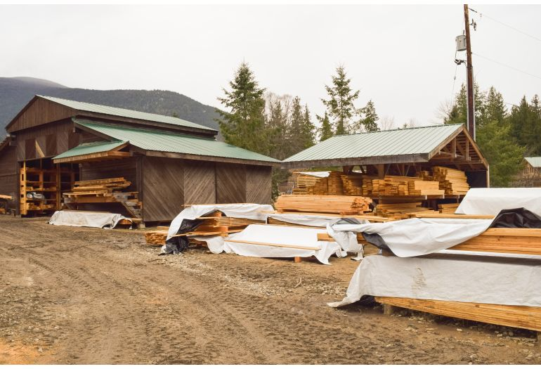 Sawmill Provides Environmental and Economic Benefits for
