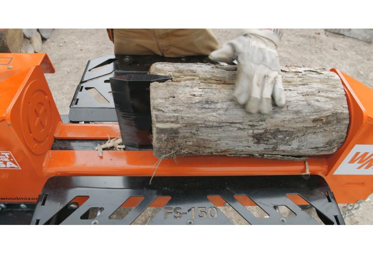 FS150 Log Splitter in Action