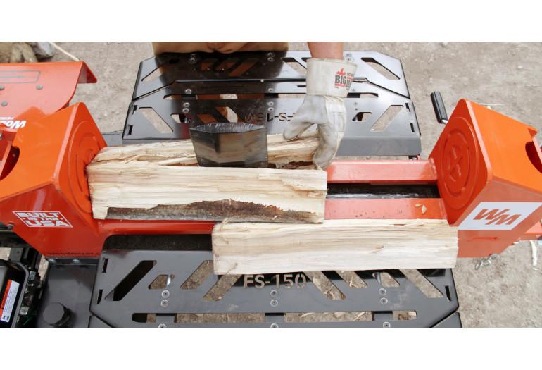 FS150 Wood Splitter in Action