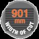 901mm width of cut sawmill