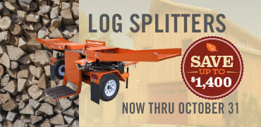 Wood Splitters for Sale