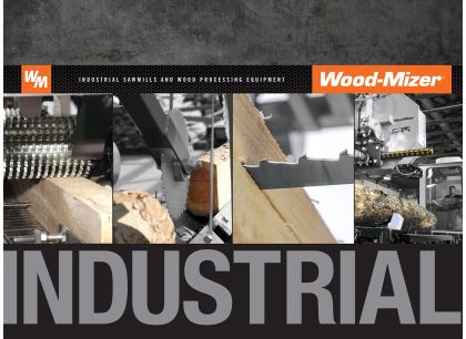 Wood-Mizer Industrial Sawmill Equipment Catalog