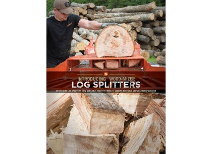 Wood-Mizer Log Splitters Catalog