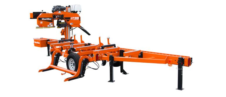 Used Portable Sawmills For Sale >> LT35 Hydraulic Portable Sawmill