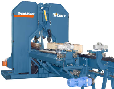 Wood-Mizer TITAN Industrial Twinband Saw