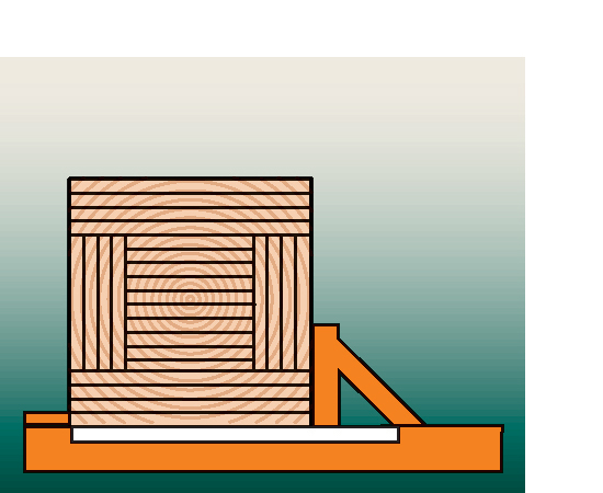 Rotate the cant to produce the maximum amount of lumber.