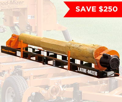 LatheMizer Attachment for LT15 Sawmill