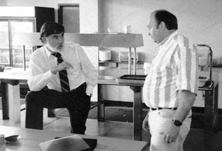Laskowski y Tekulve fundadores de Wood-Mizer