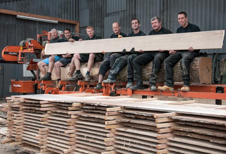 Familia Wood-Mizer