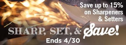 Save on Sharpener and Setter Bundles