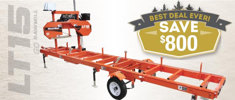 LT15GO Portable Sawmill | Wood-Mizer