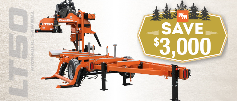 LT50 Hydraulic Portable Sawmill | Wood-Mizer