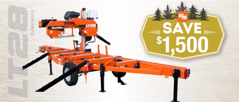 LT28 Portable Sawmill | Wood-Mizer