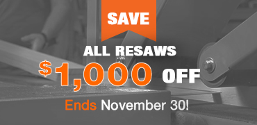 Save 1000 on all Resaws