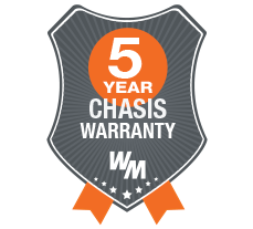 5 Year Chassis Warranty