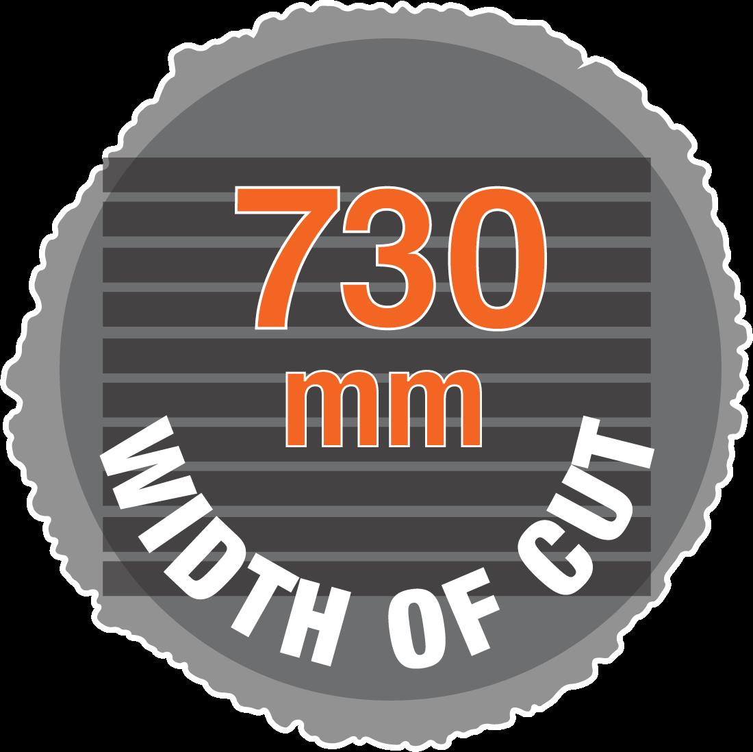 730mm width of cut hydraulic sawmill