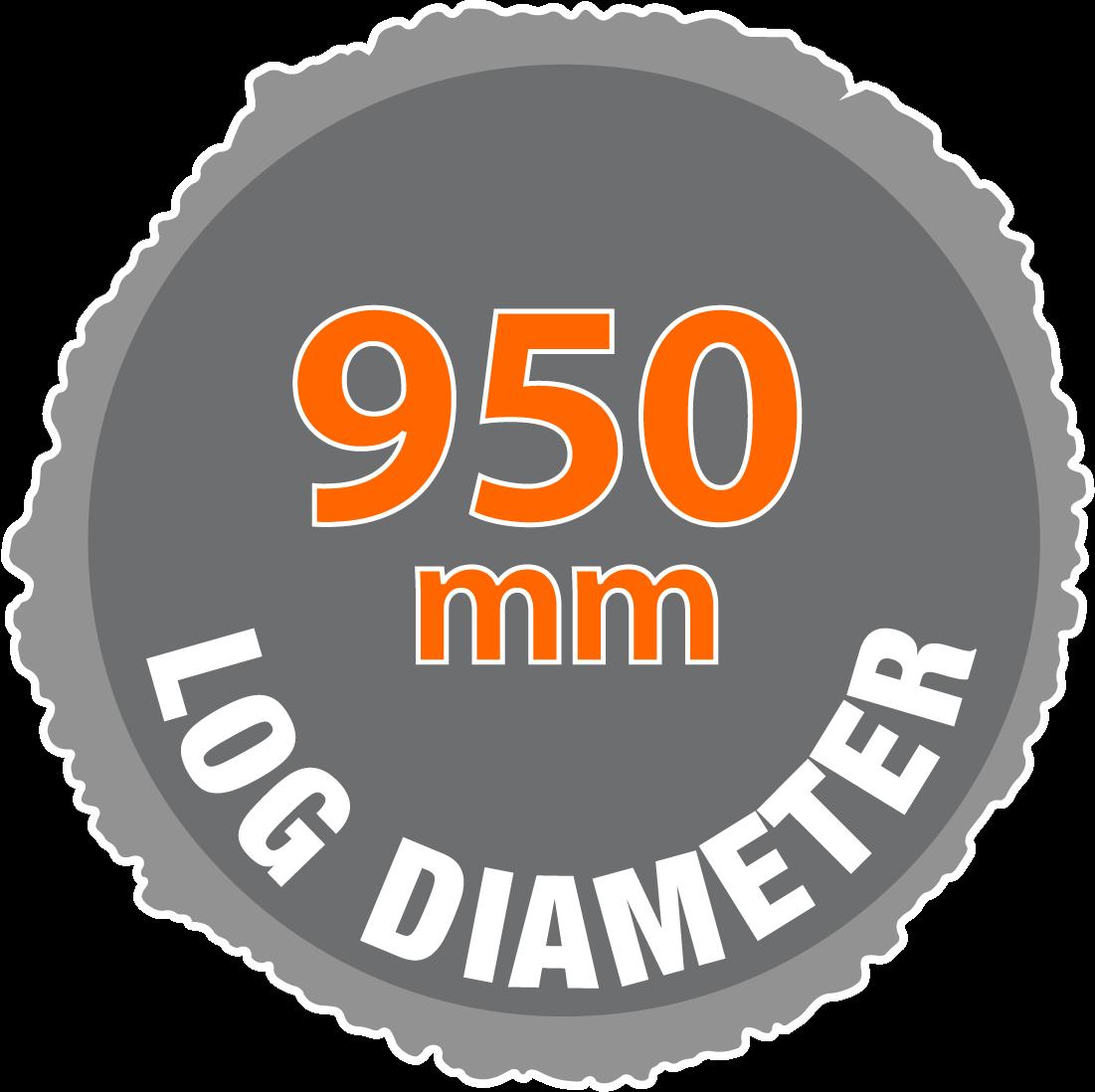 950mm log diameter hydraulic sawmill