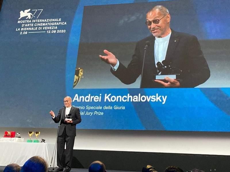 Новости дня: Фильм Кончаловского получил спецприз Венецианского фестиваля