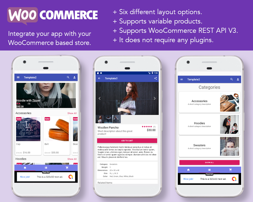 Android App Builder - WooCommerce, WebView, WordPress & much more - 1
