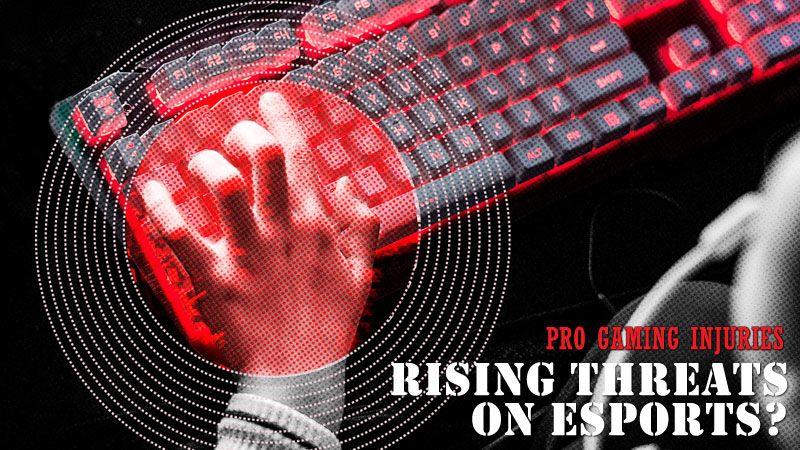 Cidera dalam Dunia eSports, Pahami Bahaya dan Solusinya