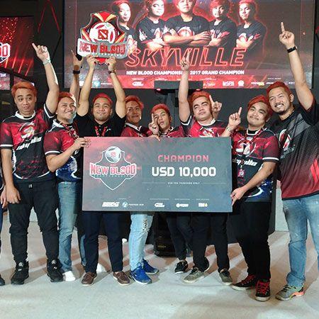 Juarai New Blood Championships, Skyville Buka Peluang Masuk Major