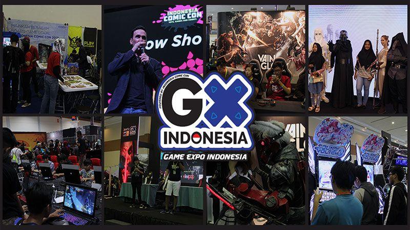 Menjajah Gaming Zone GX di Indonesia Comic Con 2017