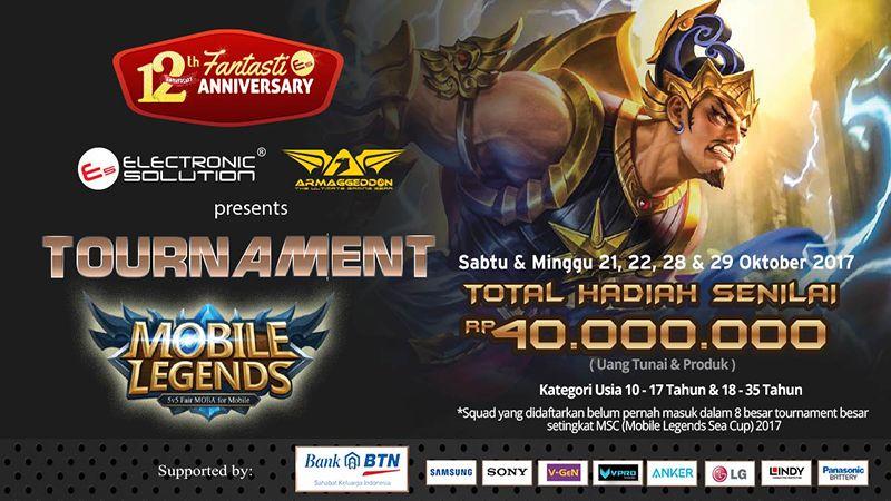 Kalangan Muda yang Berjaya di Electronic Solution Mobile Legends Tournament
