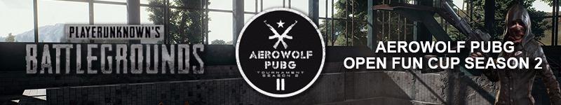 Aerowolf PUBG Open Fun Cup Season 2