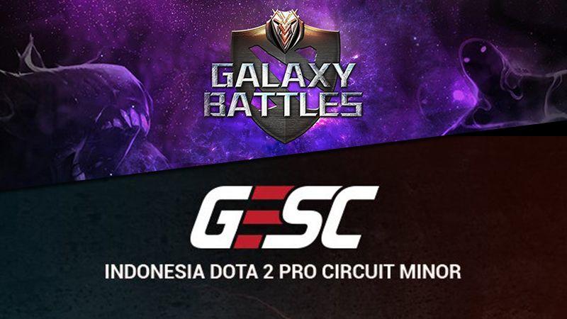 Menyaring Pesaing di Galaxy Battles dan GESC E-Series Jakarta