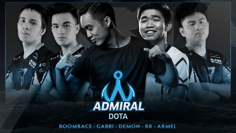 Jimmy 'DeMon' Ho Bentuk Team Admiral Bareng Eks Clutch Gamers