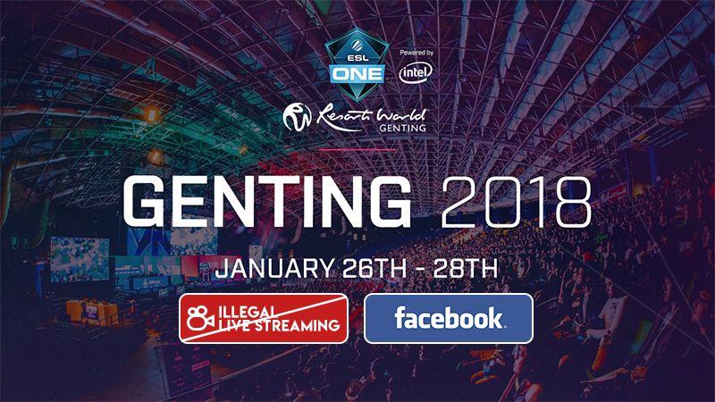 Facebook Watch Kalah Saing, ESL Larang Streaming Ilegal