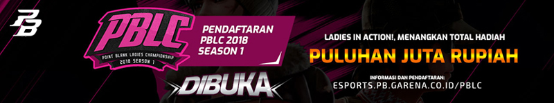 Point Blank Ladies Championship (PBLC) 2018 Sesion 1