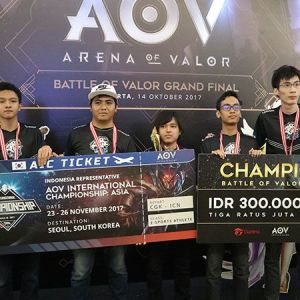 Berbagi Keseruan di Grand Final Battle of Valor 2017