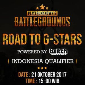 Road to G-Stars: Indonesia Qualifier, Main PUBG dan Pesiar ke Korea