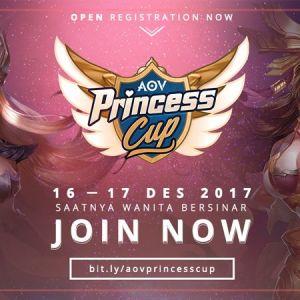 Saatnya Perempuan Bersinar, AOV Princess Cup