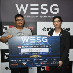 [WESG] Jual Beli Strategi di Final, nexok40 Wakil Hearthstone Indonesia
