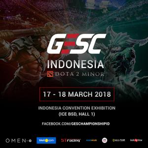 8 Tim Terbaik Indonesia Berebut Tiket Main Event GESC Indonesia 2018