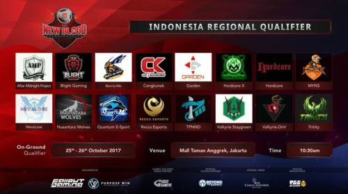 [LIVE NOW] Kualifikasi Tim Amatir DOTA 2 Indonesia Event New Blood Championship