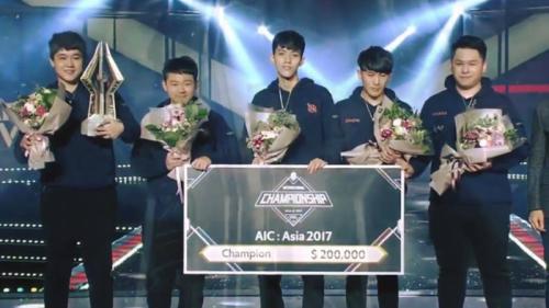 Juarai AIC 2017, SMG Buktikan Tim Tertangguh di Asia