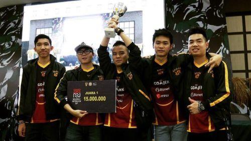 RRQ.O2 Terbaik di ML Heroes Cup, Turnamen Perdana AMPI dan TNI AD