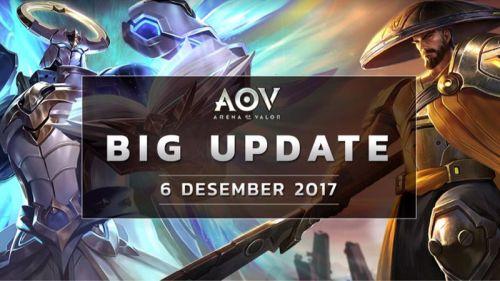 GARENA Rilis Update Besar yang Manjakan Player AoV