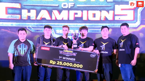 Legion of Champions, Headhunters Wakili Indonesia di Bangkok