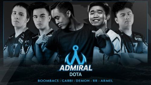 Jimmy 'DeMon' Ho Bentuk Team Admiral Bareng Eks Clutch Gamers