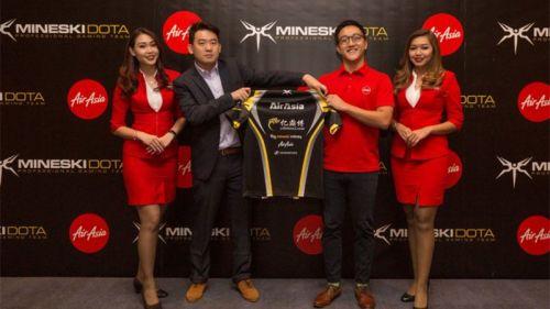 AirAsia Siap 'Terbangkan' Mineski, Dukungan Terhadap eSports di SEA