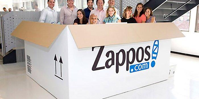 Design led organization - Zappos