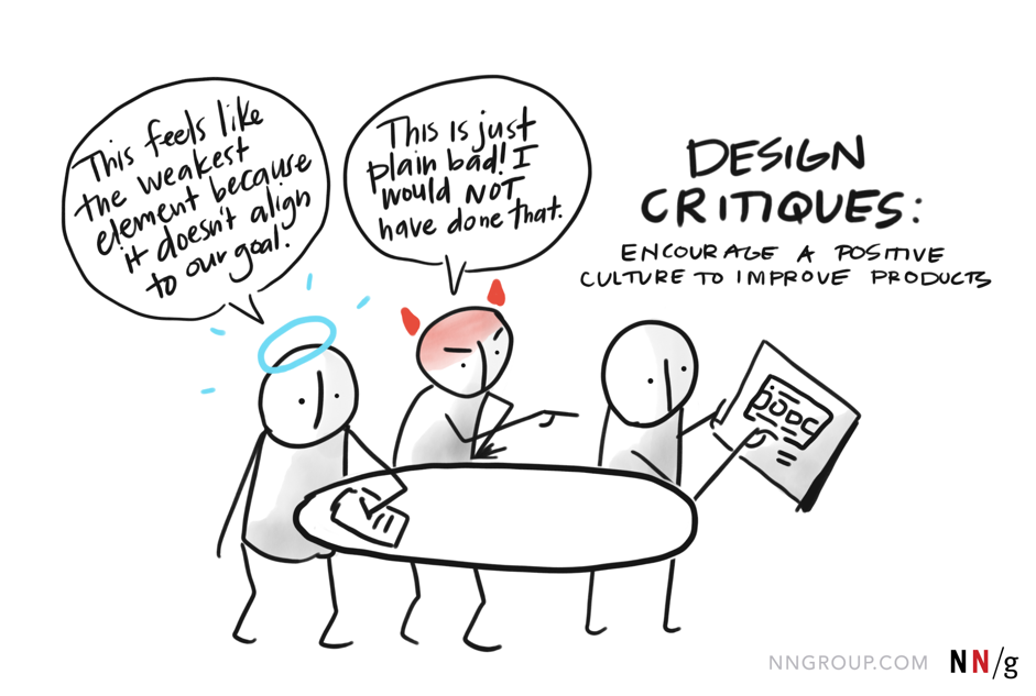 design critique session