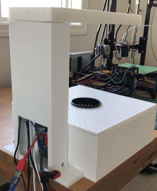 Indoor Agriculture Robot - back