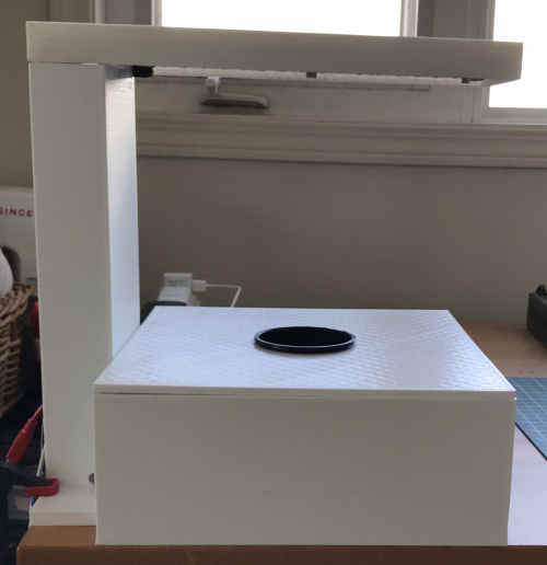 Indoor Agriculture Robot - front - off