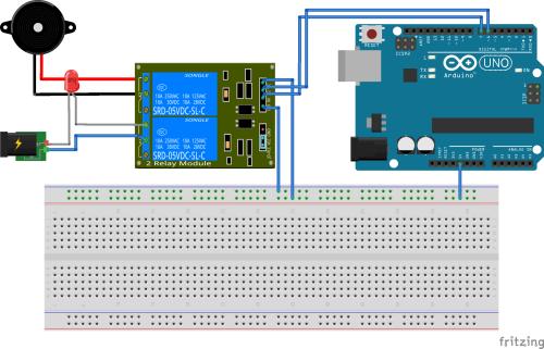 Ultrasonic Fogger Circuit